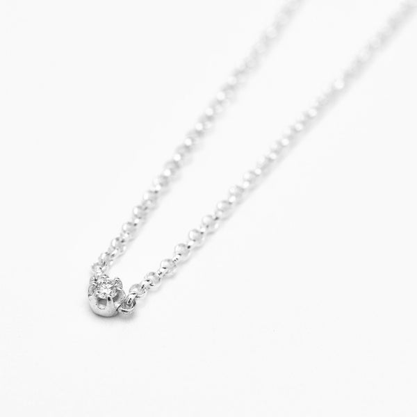 Seis Classic Diamond Necklace