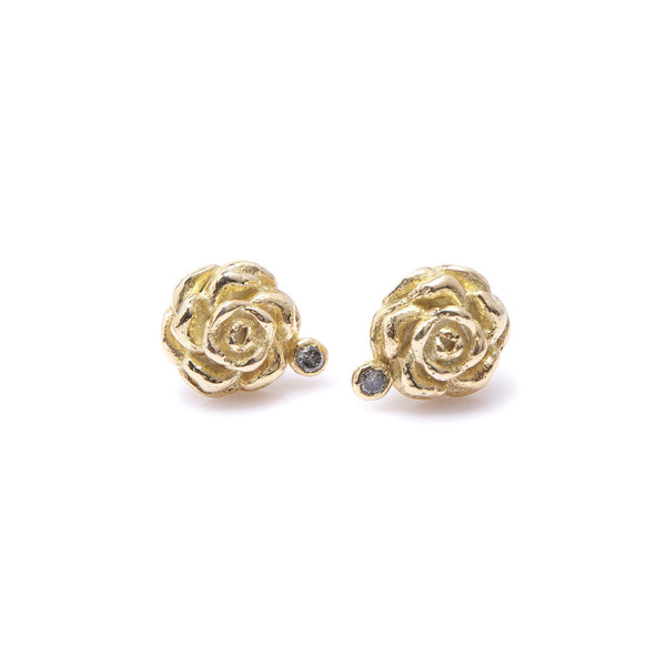 Camelia Diamond Earrings