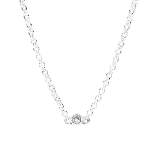 Bead Diamond Necklace