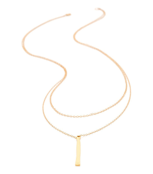 Pressed Taner Layer necklace