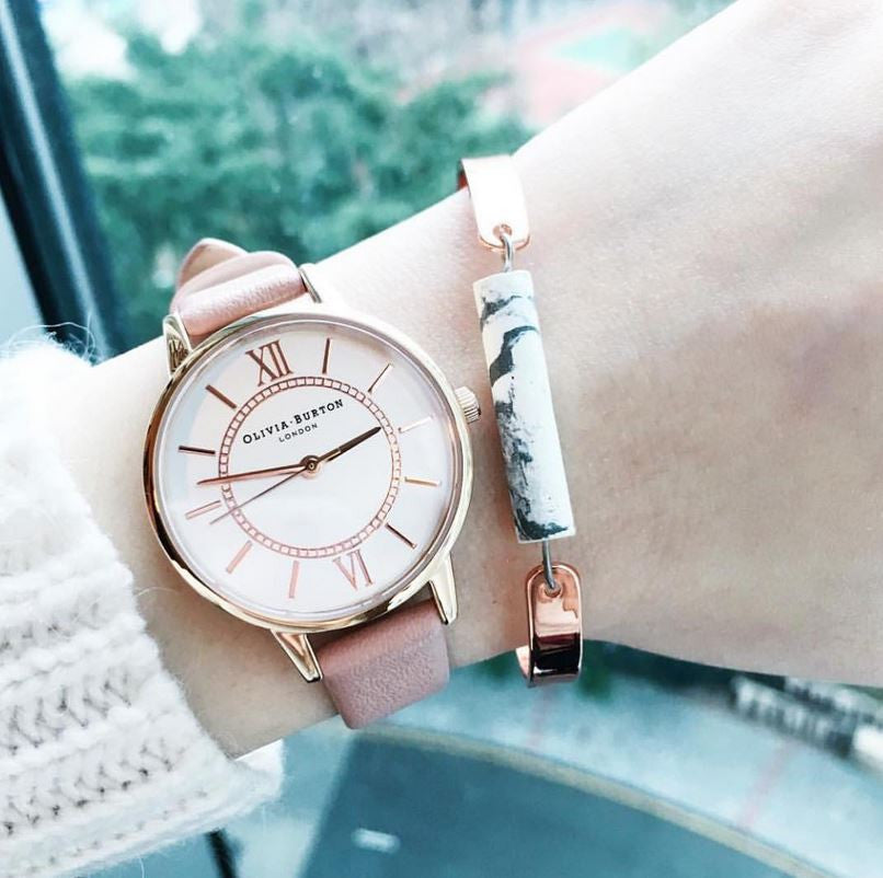OLIVIA BURTON WOMEN'S WONDERLAND DUSTY PINK MIX WATCH - ROSE GOLD/PINK的圖片搜尋結果