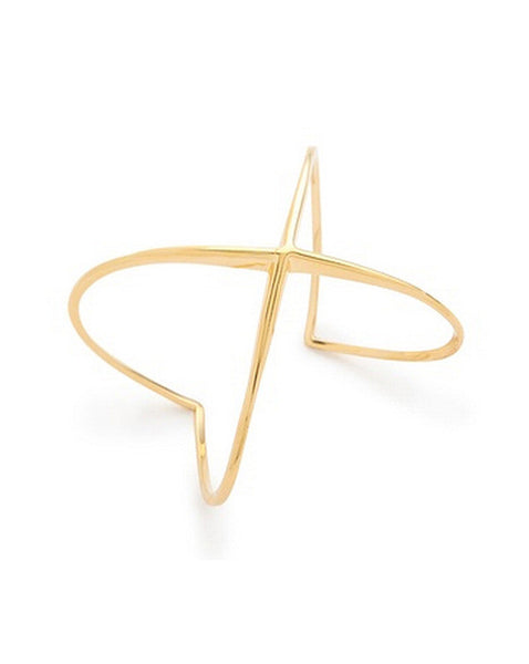 Elizabeth and James Windrose Cuff - Gold