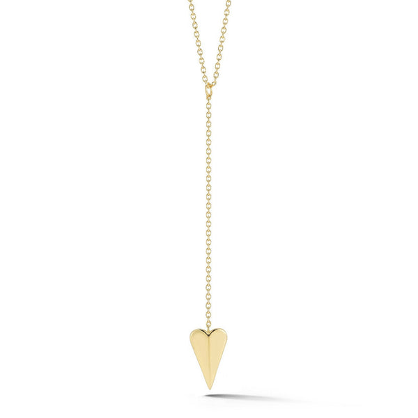 Elizabeth and James Bronte heart Lariat Necklace