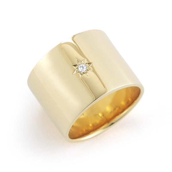 Elizabeth and James Bassa Starburst Ring