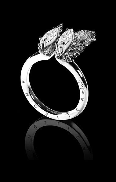 ANGELICA MINI RING - ARGENT RHODIUM