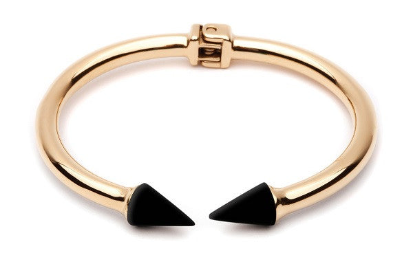 ODILE BRACELET BLACK PYRITE WITH GOLD