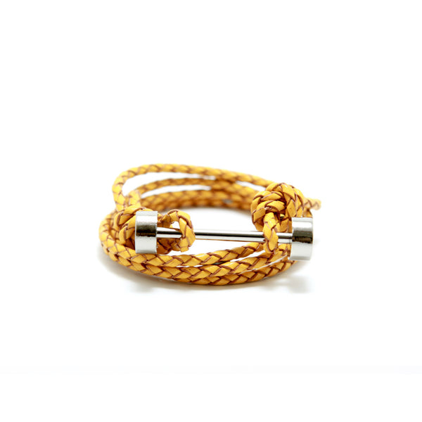 BARBELL BRACELET - YELLOW