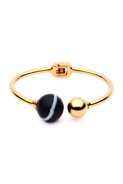 (PRE-ORDER) Bentley Bangle - Gold Onyx