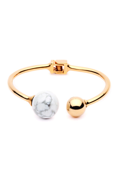 (PRE-ORDER) Bentley Bangle - Gold Marble