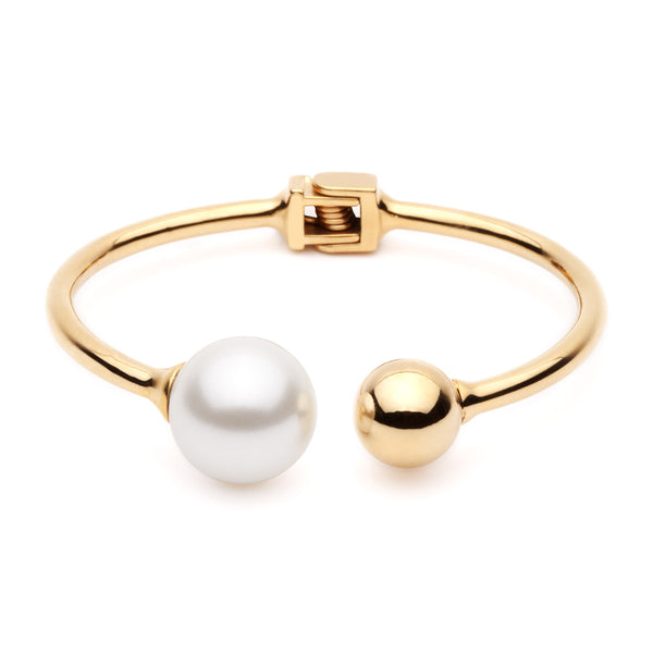 (PRE-ORDER) Bentley Bangle - Pearl shell