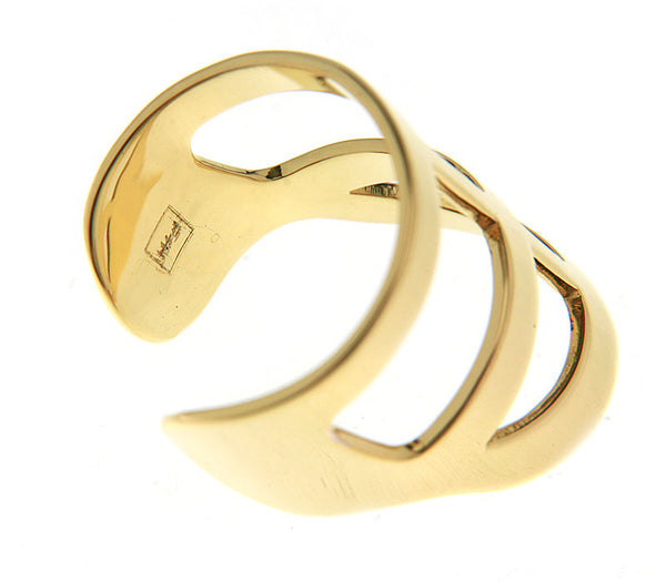 (PRE-ORDER) BRIAN CROSS RING - YELLOW GOLD
