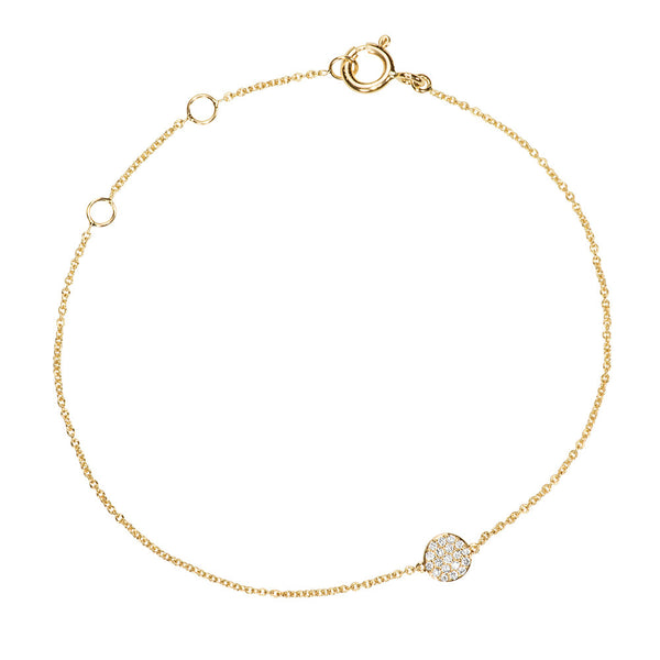 (PRE-ORDER) DIAMOND DREAMTIME DOT BRACELET YELLOW GOLD