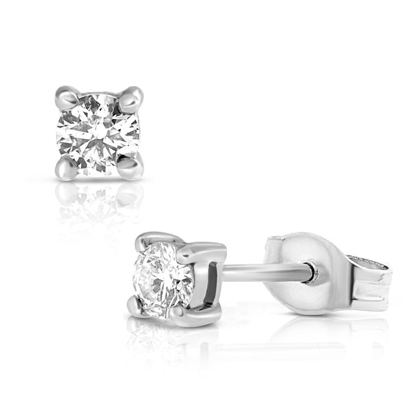 (PRE-ORDER) DIAMOND SOLITAIRE EARRINGS