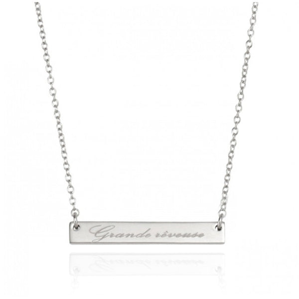 DREAMER NECKLACE - SILVER