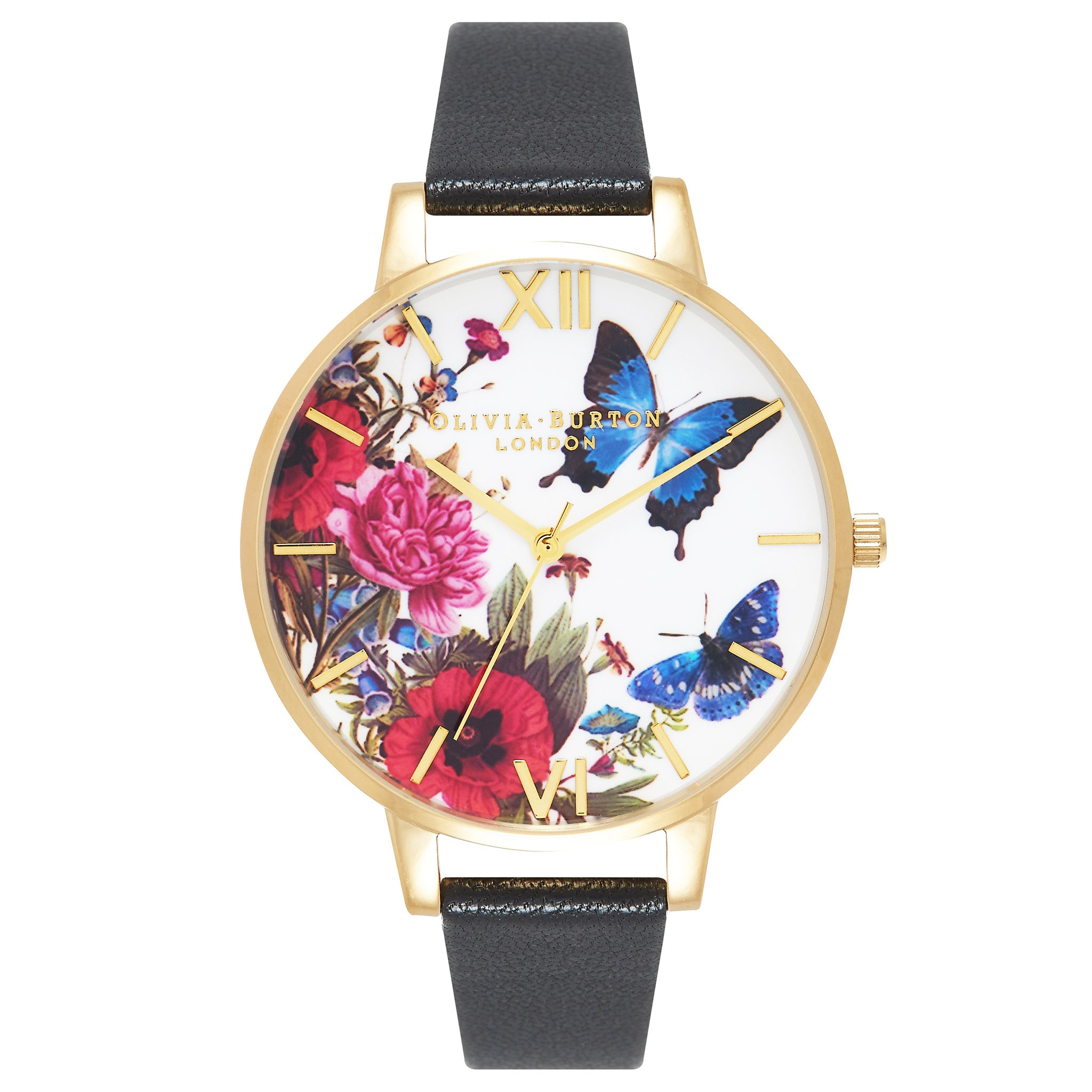 accessories watch goldtone product white metro kate stainless strap gallery york novelty gold leather butterfly lyst normal steel saffiano new spade watches