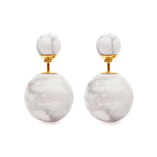 (PRE-ORDER) Grand Eclipse Marble Studs
