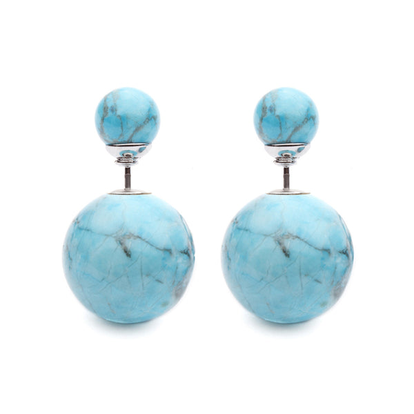 (PRE-ORDER) Eclipse Blue Turquoise Studs
