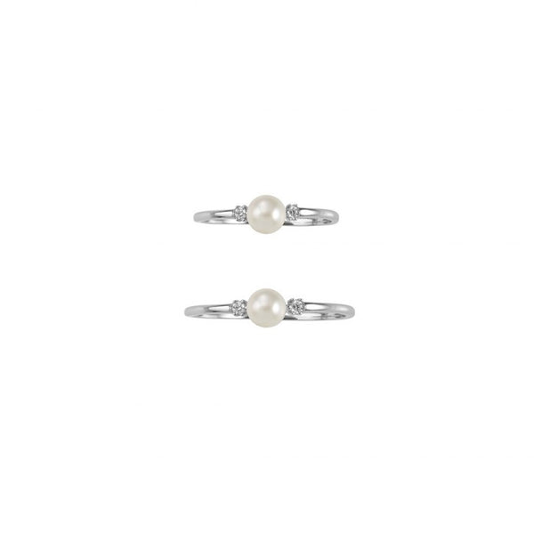EVENING SHINE RING SET - SILVER