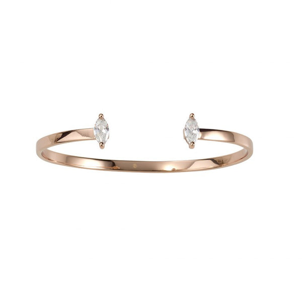 GOLD DUST NIGHTS CUFF - ROSE GOLD