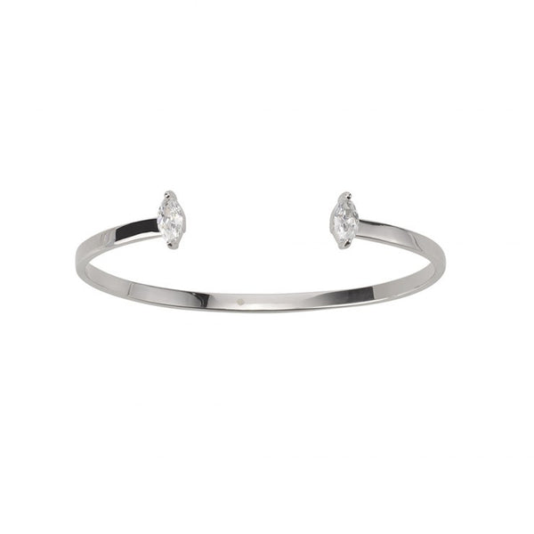 GOLD DUST NIGHTS CUFF - SILVER