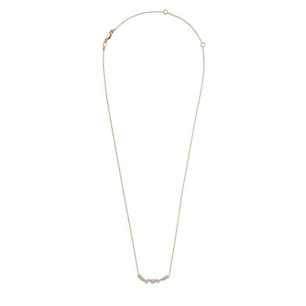 GOLD DUST NIGHTS NECKLACE - ROSE GOLD