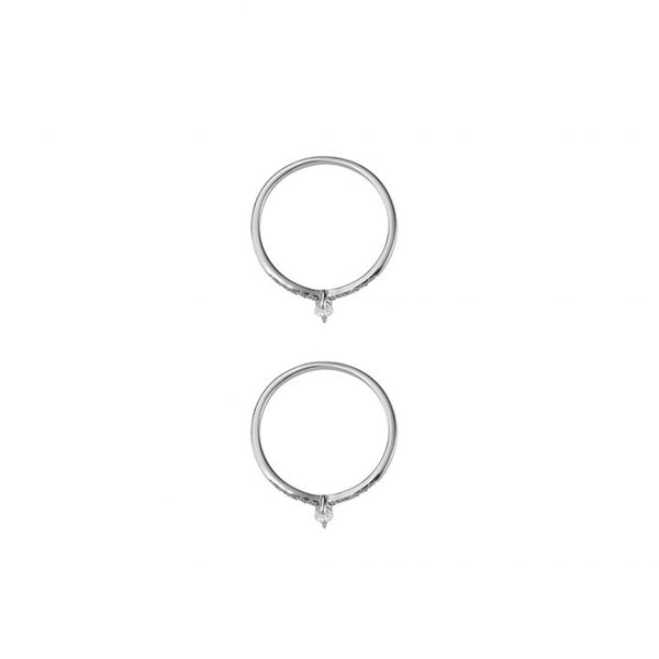GOLD DUST NIGHTS RING SET - SILVER