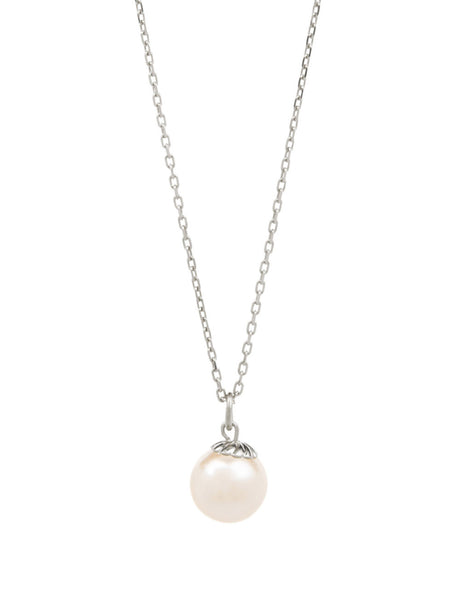 (PRE-ORDER) Hope Pearl Necklace - Silver