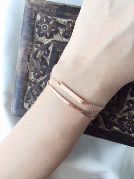 HARVEST MOON BRACELET - ROSE GOLD