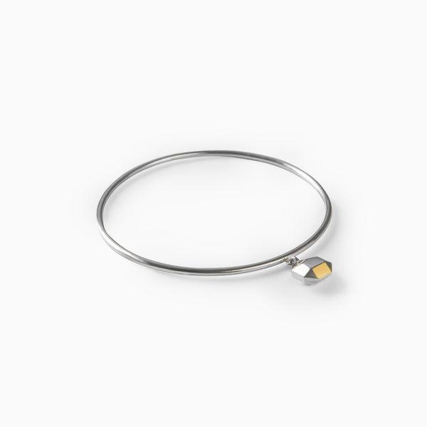 (PRE-ORDER) Sunday Morning Bangle - Silver