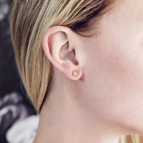 (PRE-ORDER) Nevermind Studs - Gold