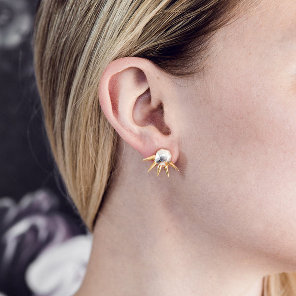 (PRE-ORDER) Star Gazer Earrings - Gold Spikes