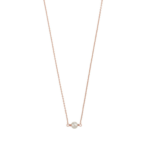 JASMINE & FLEETWOOD PETITE NECKLACE - ROSE GOLD