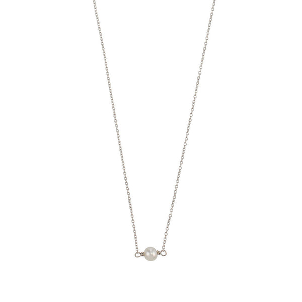 JASMINE & FLEETWOOD PETITE NECKLACE - SILVER
