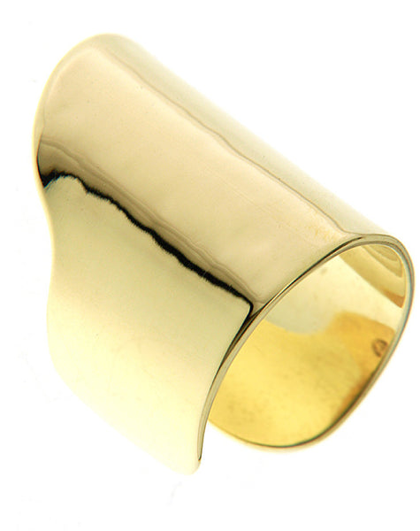 (PRE-ORDER) KEITH PHALANX RING - YELLOW GOLD