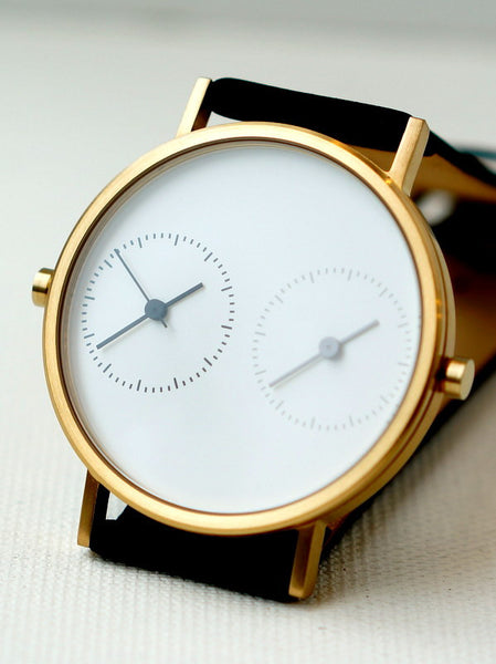 LONG DISTANCE - WHITE DIAL AND GOLD