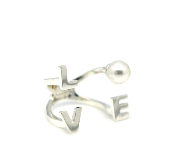 (PRE-ORDER) LOVE PEARL PLAIN RING