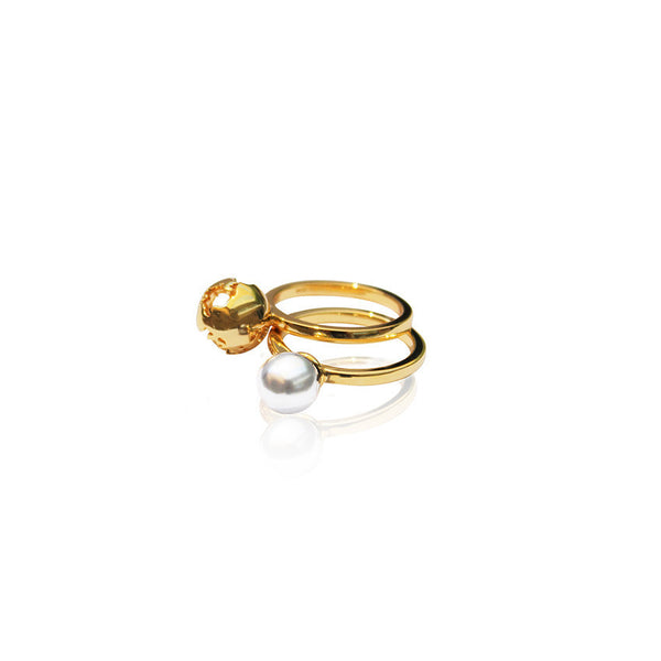 Artelier Jewelry - Luna Double Ring