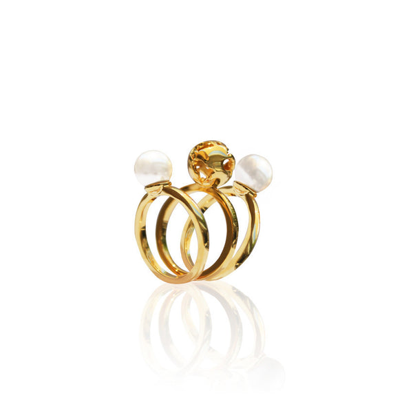 Artelier Jewelry - Luna Triple Ring
