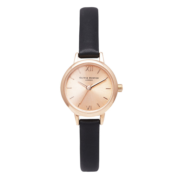 MINI DIAL - ROSE GOLD DIAL FACE WITH BLACK