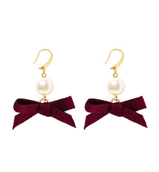 (PRE-ORDER) Bow Earring Collection - Night on the Town