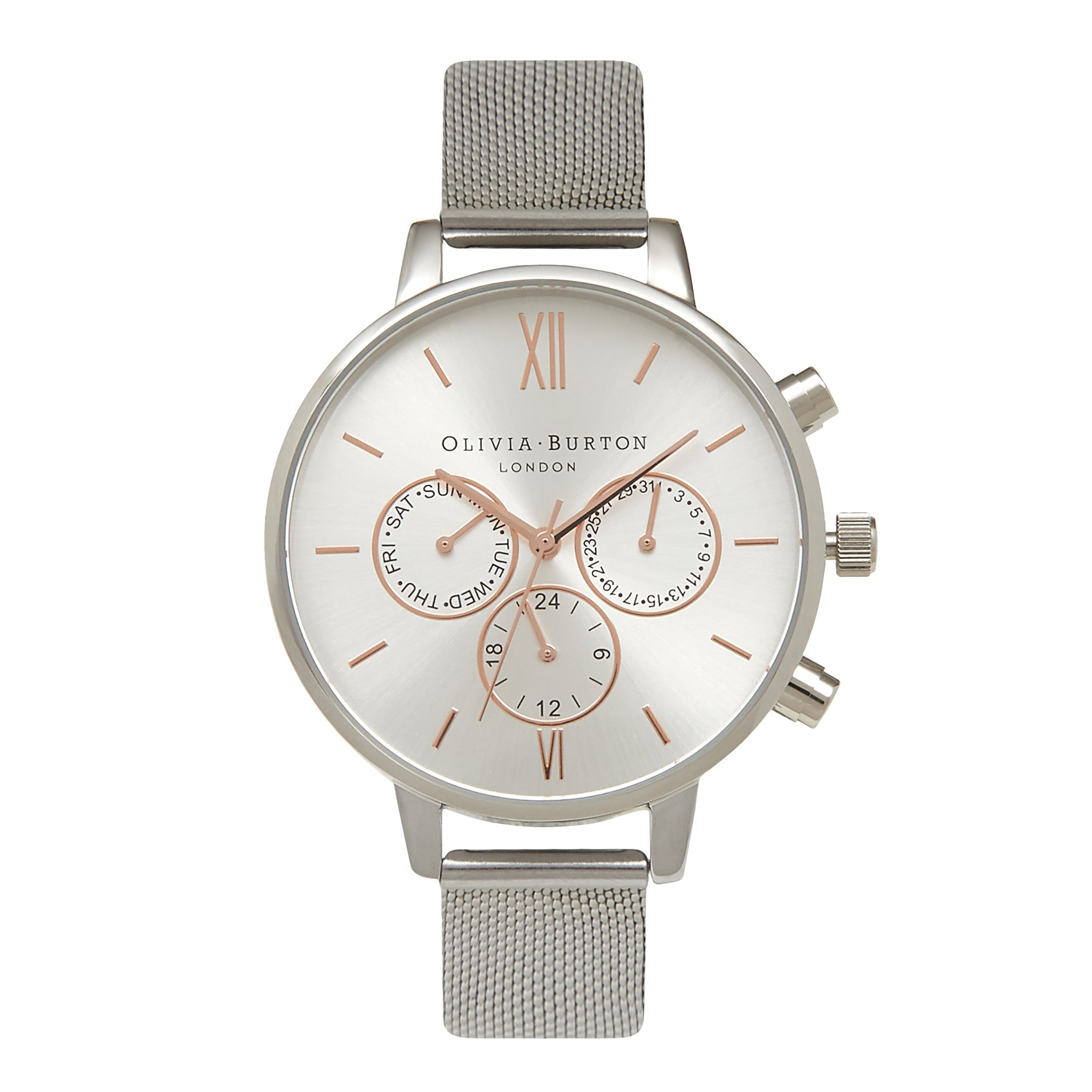 steel classic kulani silver latte products image kinis stainless peach original watches watch