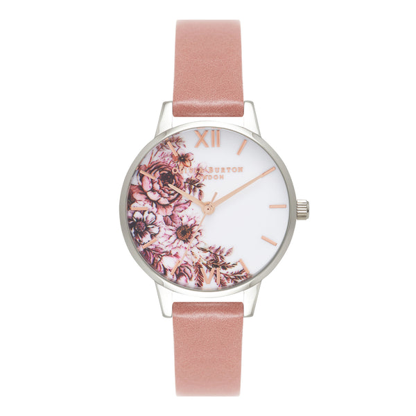 MIDI FLOWERSHOW ILLUSTRATED FLORALS & ROSE STRAP