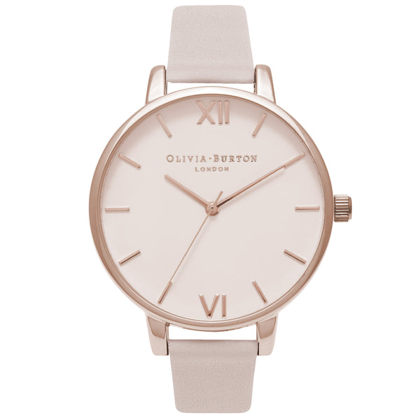 Begin to Blush - Big Dial Blush & Rose Gold