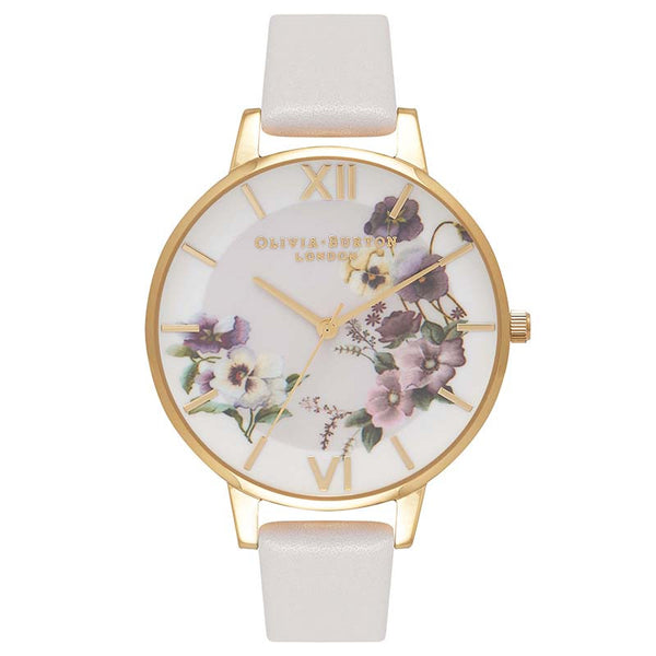 Begin to Blush - Pansy Blush & Gold