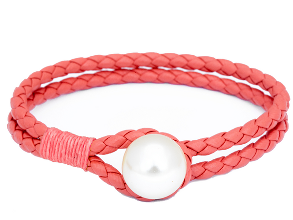(PRE-ORDER) Pearl Knot Collection - Salmon