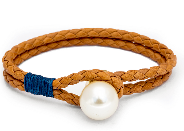 (PRE-ORDER) Pearl Knot Collection - Tan & Blue
