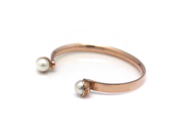 (PRE-ORDER) POMPOM PEARL OPEN BANGLE