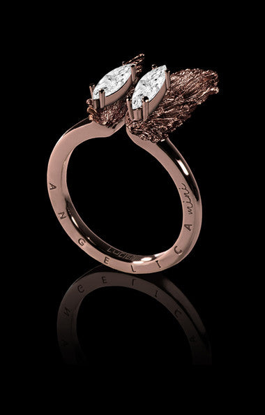 ANGELICA MINI RING - ROSE GOLD