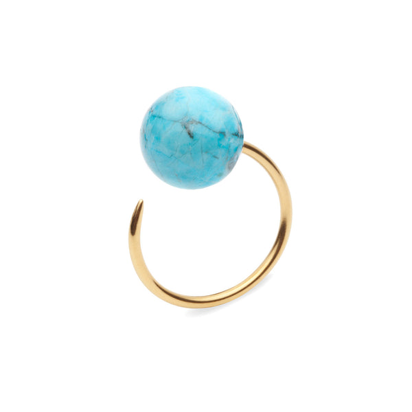 (PRE-ORDER) Riley Ring - Blue Turquoise Stone