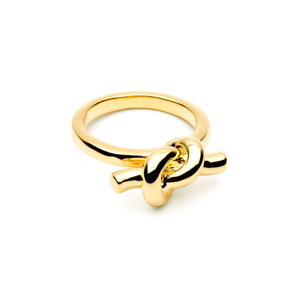 (Pre-Order) Tie The Knot Ring - Gold